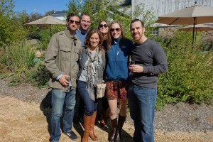 NOVA Tribe members at a wine and whiskey tour. Photo courtesy of Northern Virginia Hebrew Congregation