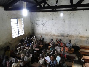 Innovation: Africa has brought electricity to some African schools.