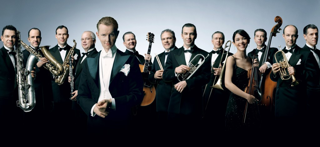 """""""Max Raabe and the Palast Orchester celebrate a brief time of """"elegance and humor"""" in Germany. Photo by OlafHeine"""