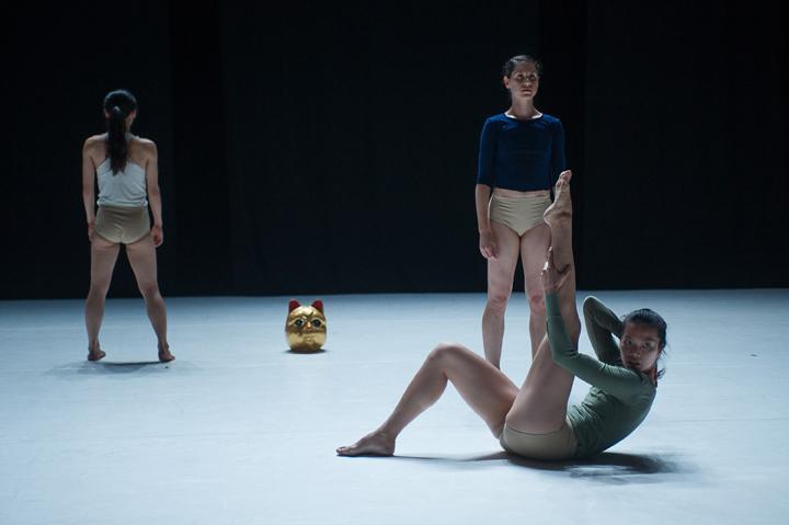 Ladies Gaga: Members of LeeSaar-The Company perform.