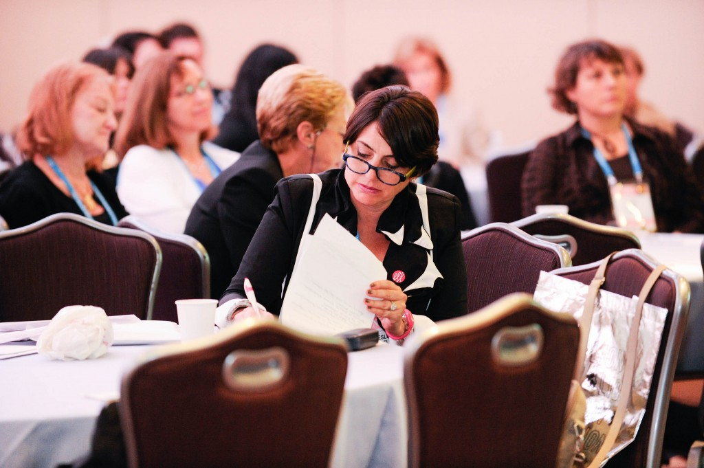 Some 1,500 North American women attended the International Lion of Judah biennial conference, held last month in New York. Photo courtesy of Jewish Federations of North America