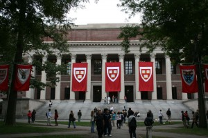 """At """"Harvard Arab Weekend,"""" one prominently featured session promoted the BDS movement. (Wikimedia Commons)"""