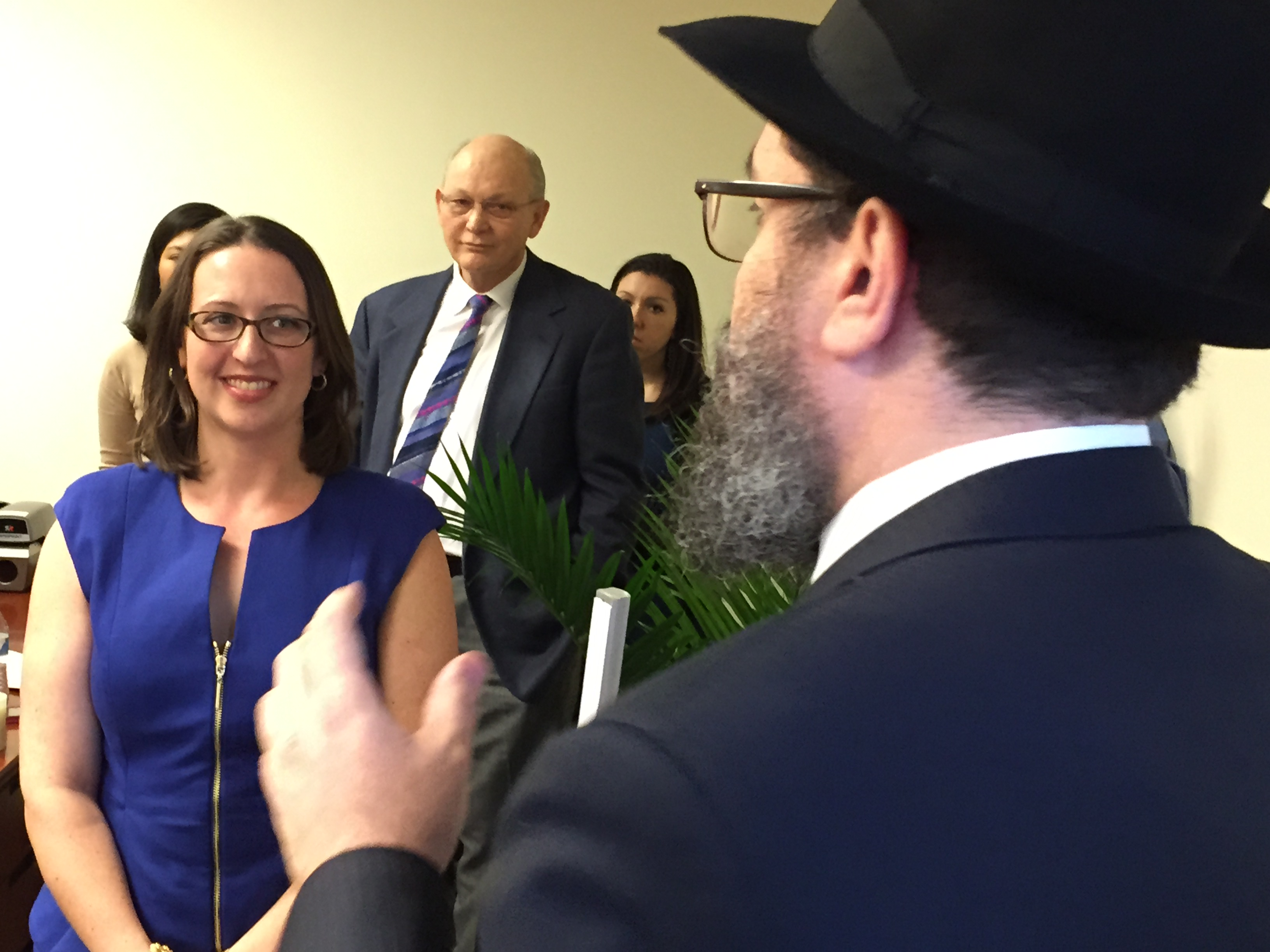 Rabbi Levi Shemtov spoke at the opening of newly-inauguraged council ...