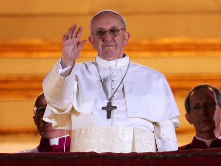 Pope Francis: Has he been too much of a success? Photo by Peter Macdiarmid/Getty