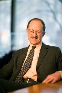 Dr. Harold Varmus, director of the National Cancer Institute will step down March 31. Photo by Matthew Septimus