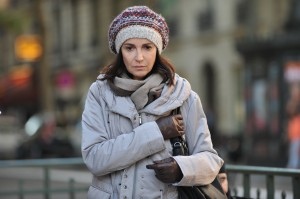 Zabou Breitman portrays Ruth Halimi, a mother whose son has been abducted, tortured and slain because he is Jewish, in in the French movie 24 Jours. Photo courtesy of Menemsha Films and Filmfest DC
