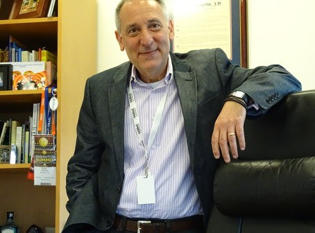 """Hillel CEO Eric Fingerhut: """"All the BDS referendums that went for a full vote were defeated. Not a single one passed."""" Photo by David Holzel"""
