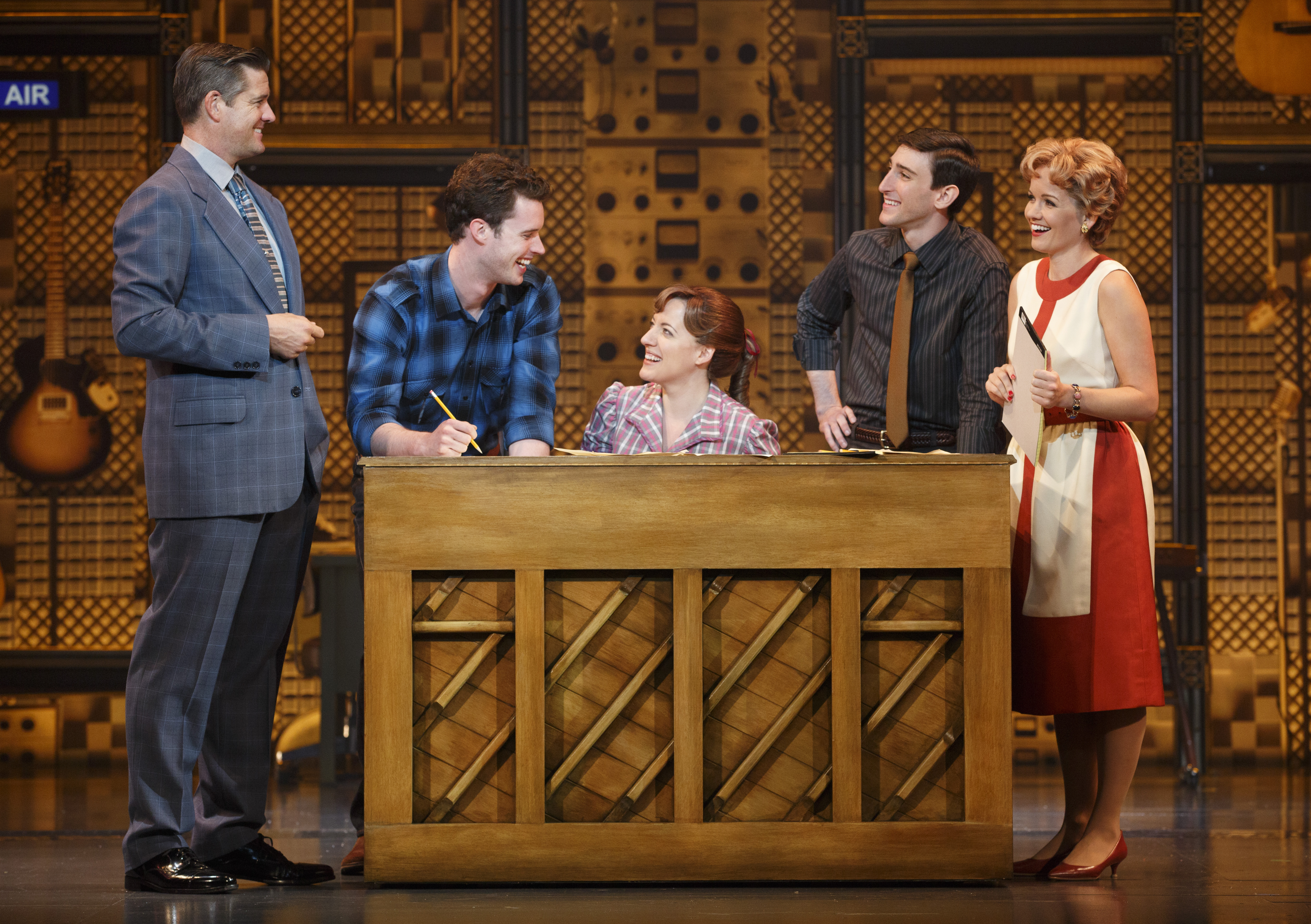 At The Piano In The Show Beautiful, From Left, Are Curt Bouril As Producer Part 94