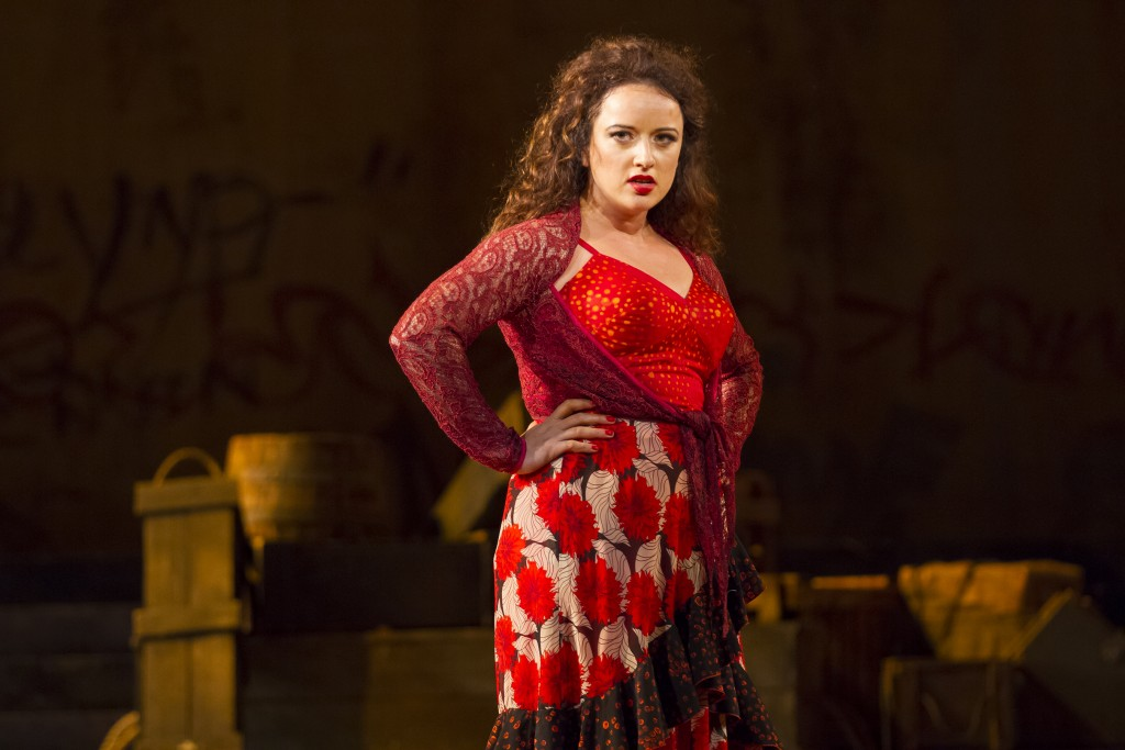 Clementine Margaine portrayed the title role in Carmen.Photo by Scott Suchman