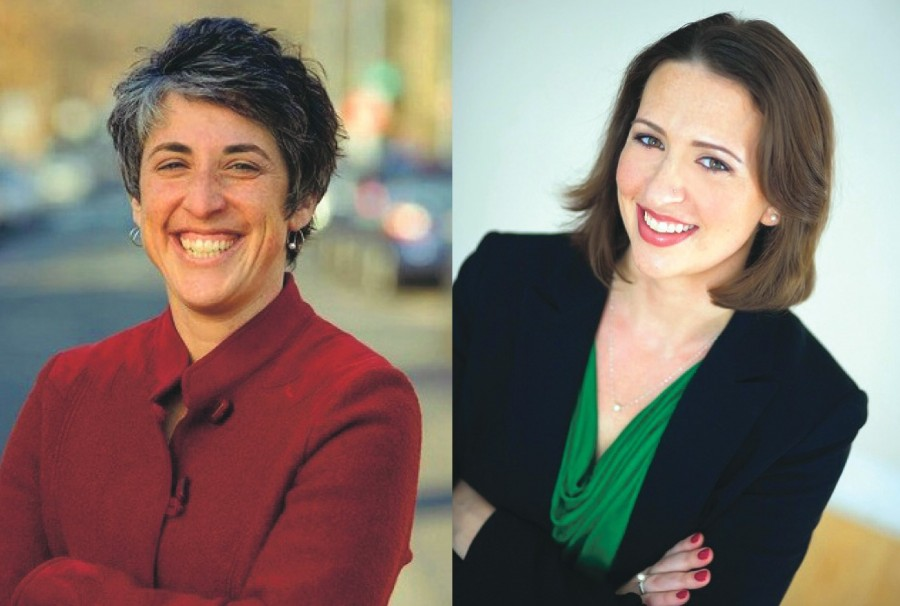 D.C. Councilmembers Elissa Silverman (I-At Large), left, and Brianne Nadeau (D-Ward 1)