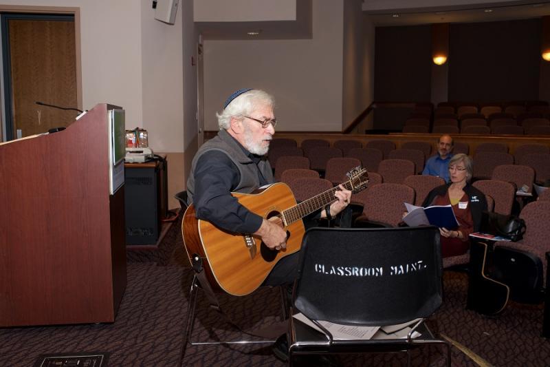 Rabbi David Shneyer models new Jewish liturgical and interpretive music.