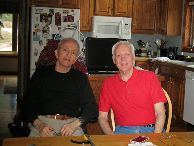 David Epstein, left, and his brother, Howard Epstein, both have APBD, which is more prevalent among Ashkenazi Jews than in the general public.Photo courtesy of David Epstein