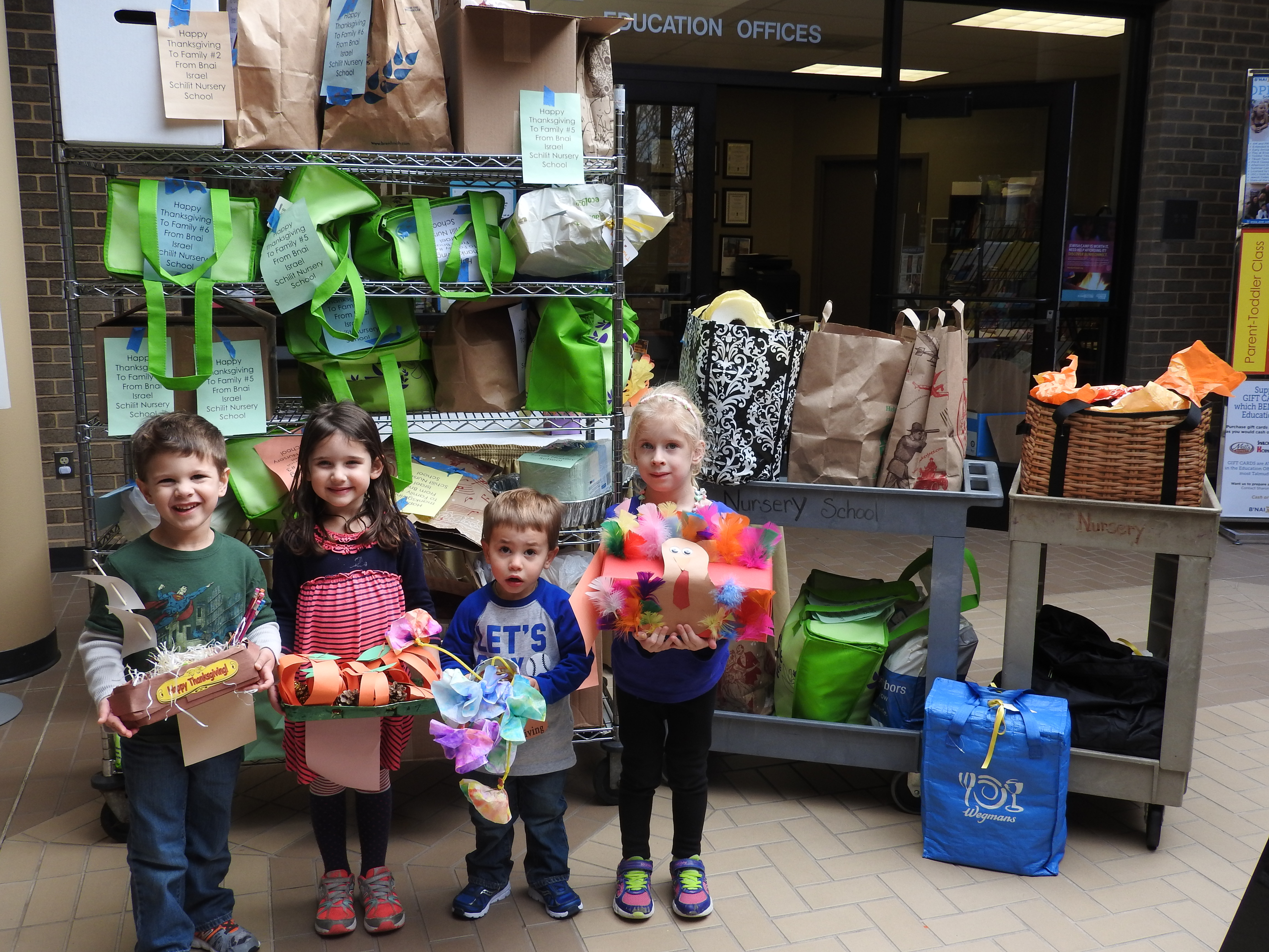 For Many Years B Nai Israel Schilit Nursery School In Rockville Has Provided Thanksgiving Holiday