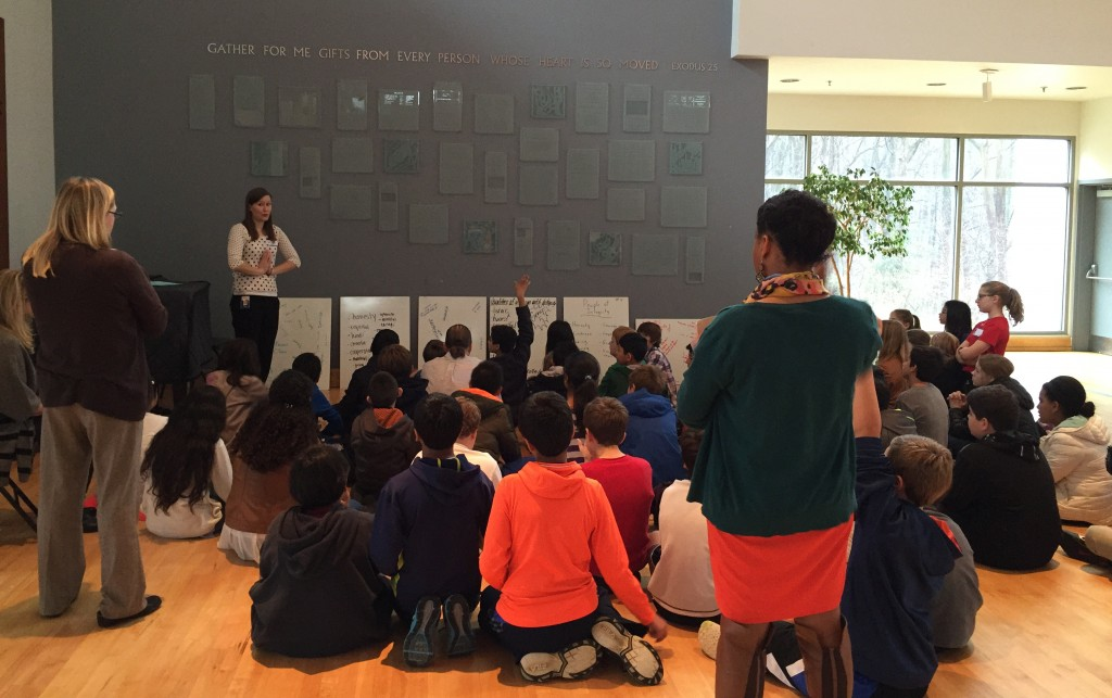 Temple Rodef Shalom in Falls Church hosts Sixth Grade Ethics Days where McLean and Langley elementary school students are presented with ethical challenges and a model to help resolve them. Photo courtesy of Safe Community Coalition