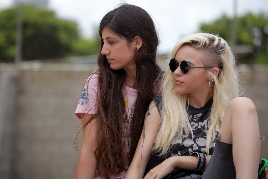 Barash, about the love affair between two Israeli high school girls, is one of the films to be screened at the Washington Jewish Film Festival. Courtesy Washington Jewish Film Festival