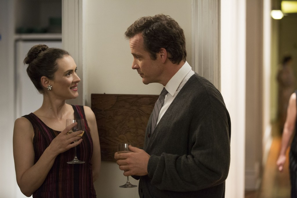 Winona Ryder and Peter Sarsgaard in Experimenter, now streaming on Nexflix.Photo courtesy Magnolia Pictures
