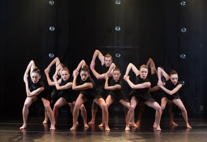 "The program closes with Koresh's signature work, ""Bolero."" Photo courtesy Koresh Dance Company"