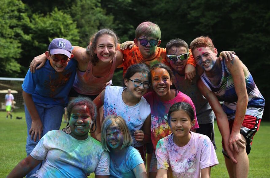 Camp JRF has embraced inclusivity since its founding, with activities that rarely divide up the boys and the girls. Courtesy of Camp JRF via JTA