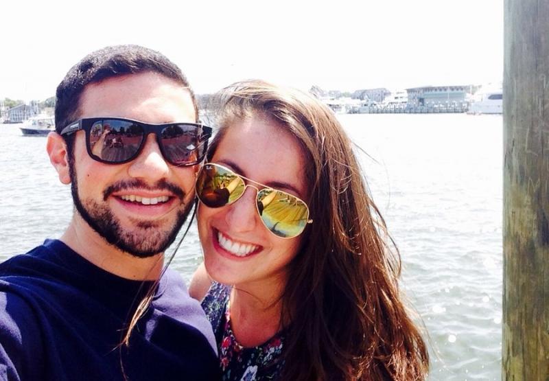 Blake Yospa, and Rachel Leeds met in Israel while they were Masa Israel Teaching Fellows.