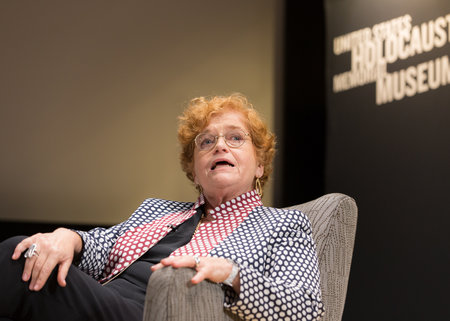 "Deborah Lipstadt: ""There aren't two sides to every story. There's certain things that happened and certain things that didn't."" Photo courtesy of the United States Holocaust Memorial Museum"