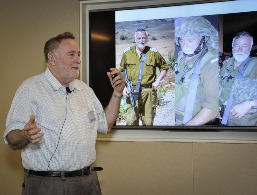 Community Col. Benzi Gruber-JNF D.C. Kampelman Speaker Forum