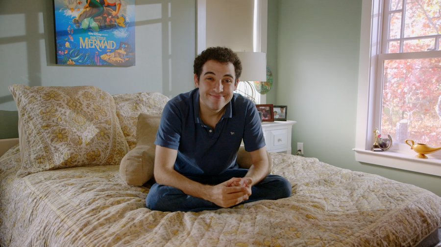 Owen Suskind used the characters, behavioral cues and ethical directives of Disney films to make sense of and deal with his own experiences. Photo by Dan Goldberg