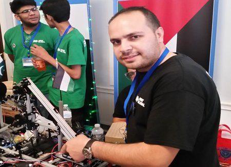 Palestinian, Israeli teens bring their robots to D.C.