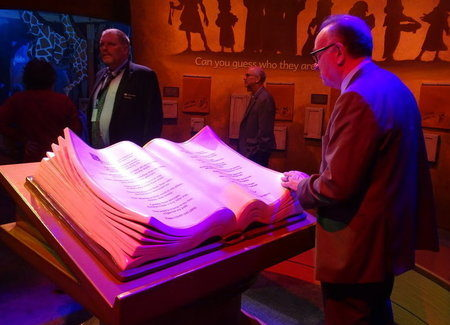 The Word at the Museum of the Bible leaves visitors speechless