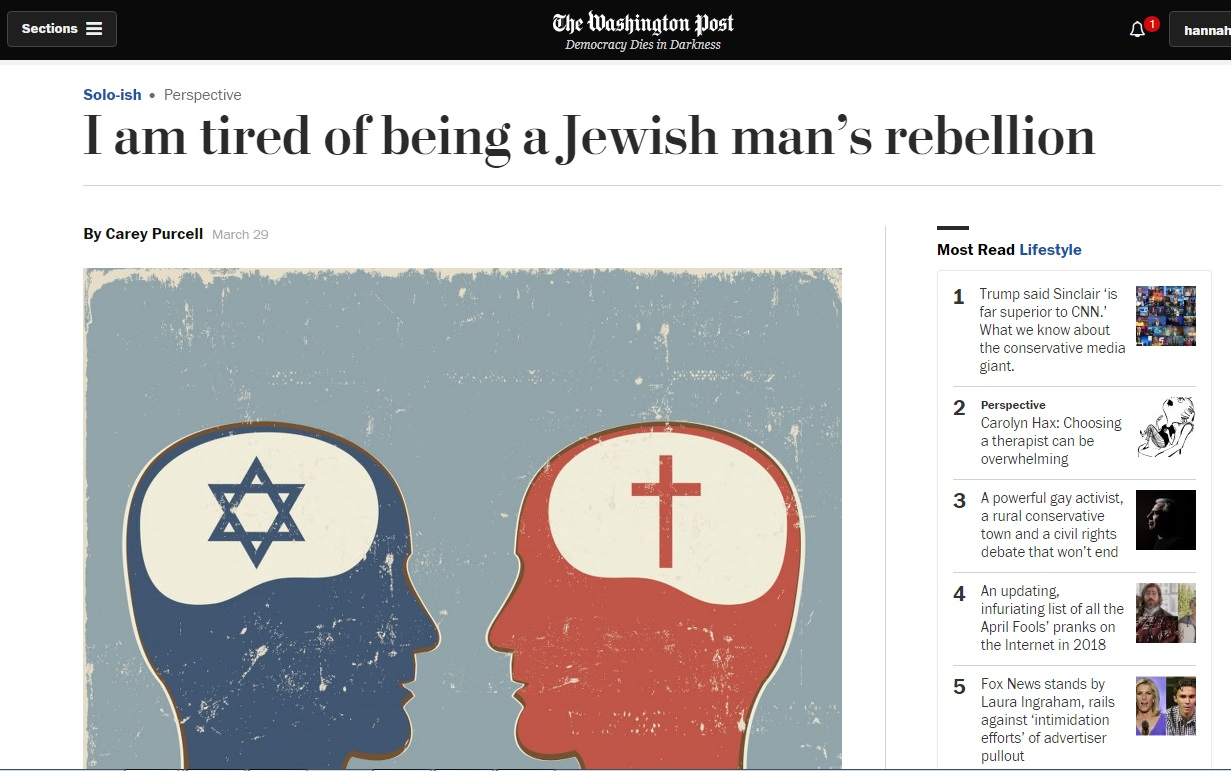 Essay On The Brain A Recentlypublished Essay I Am Tired Of Being A Jewish Mans Rebellion  Has Sparked Fury On Social Media And Inspired Several Response Articles How To Write Critical Essay also Sport Essay Topics Washington Post Essay Draws Twitter  And Real Life  Ire  Essay Movie