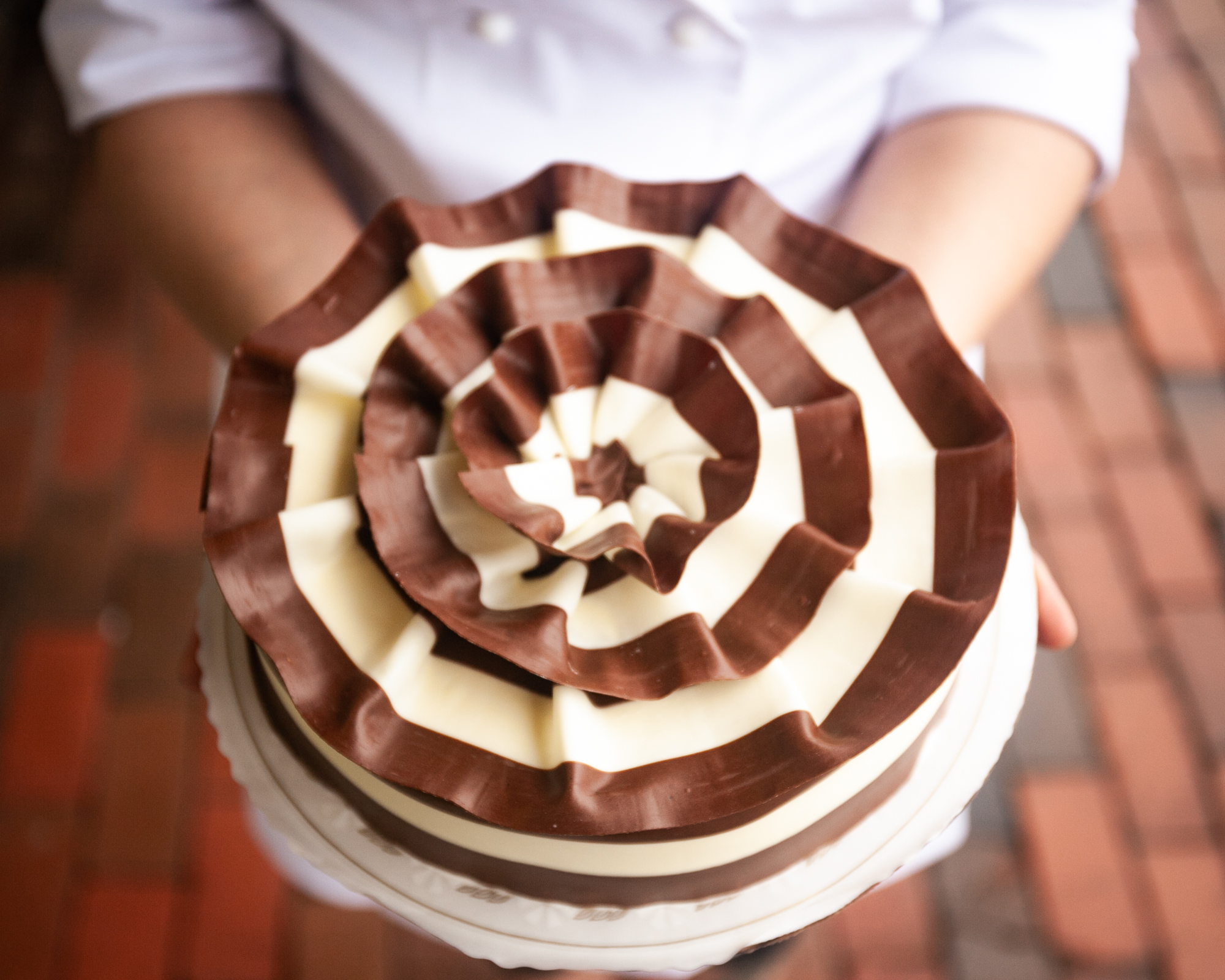 Pastries By Randolphs Chocolate Marble Mousse Cake Is Now Certified Kosher Photo Courtesy Of Randolph