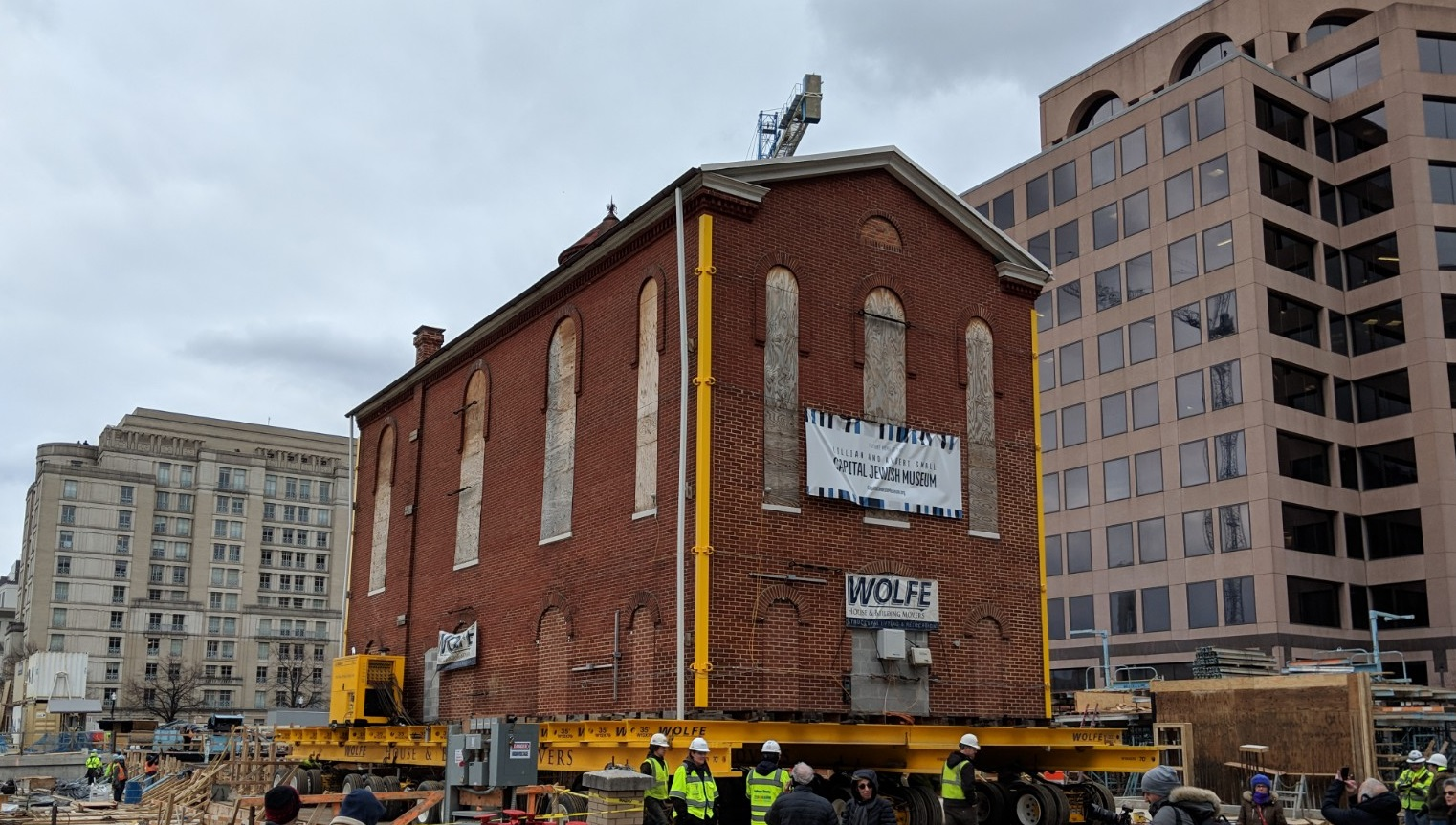 Historic Synagogue Makes Its Final Move Washington Jewish Week