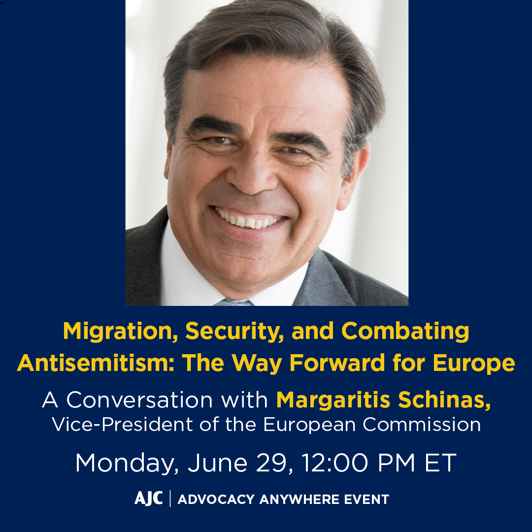 Migration, Security, and Combating Antisemitism: The Way Forward for Europe