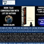 Book Talk in Conversation w/ LOT SIX Author David Adjmi (Critical-Acclaim)