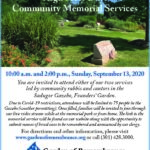 Garden of Remembrance Community Annual Memorial Service