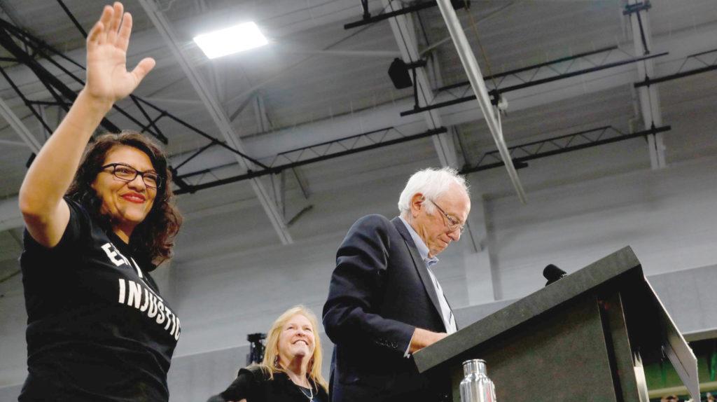 Tlaib Sanders
