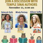 Temple Sinai's Chanukah 2020 Book Event - Children's Books