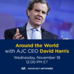 Around the World with AJC CEO David Harris