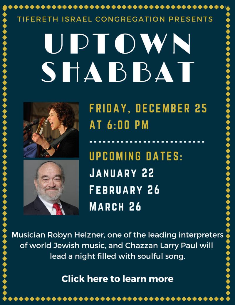 Uptown Shabbat