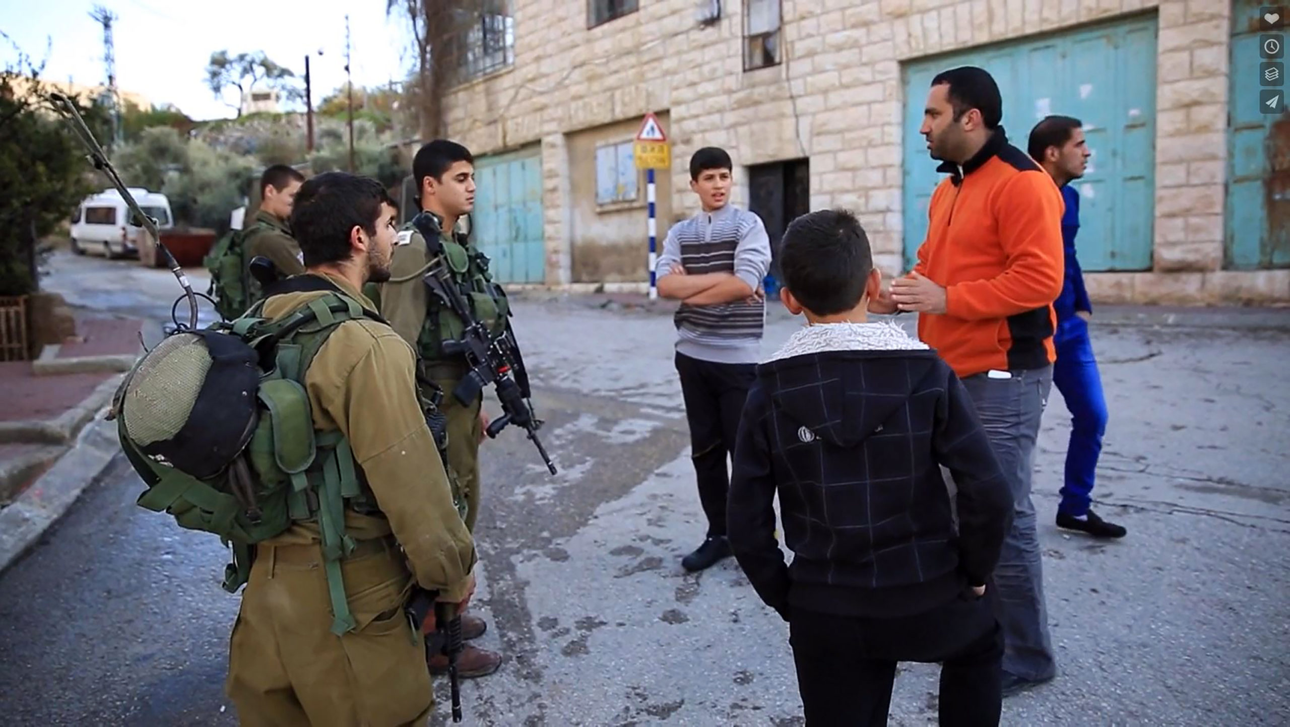 Next Generation's Perspectives on the Occupation: Three Student Films