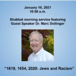 Shabbat service w/guest speaker Dr. Marc Dollinger