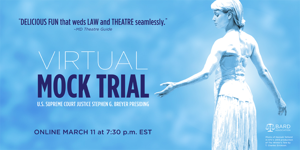 Shakespeare Theatre Company's Virtual Mock Trial