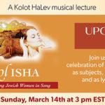 KOL ISHA: Celebrating Jewish Women in Song.