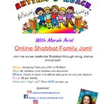 Rhythm \'N\' Ruach OnlineShabbat Family Jam