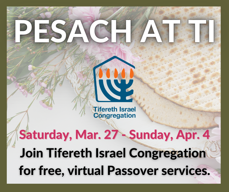 Passover Services Day 1